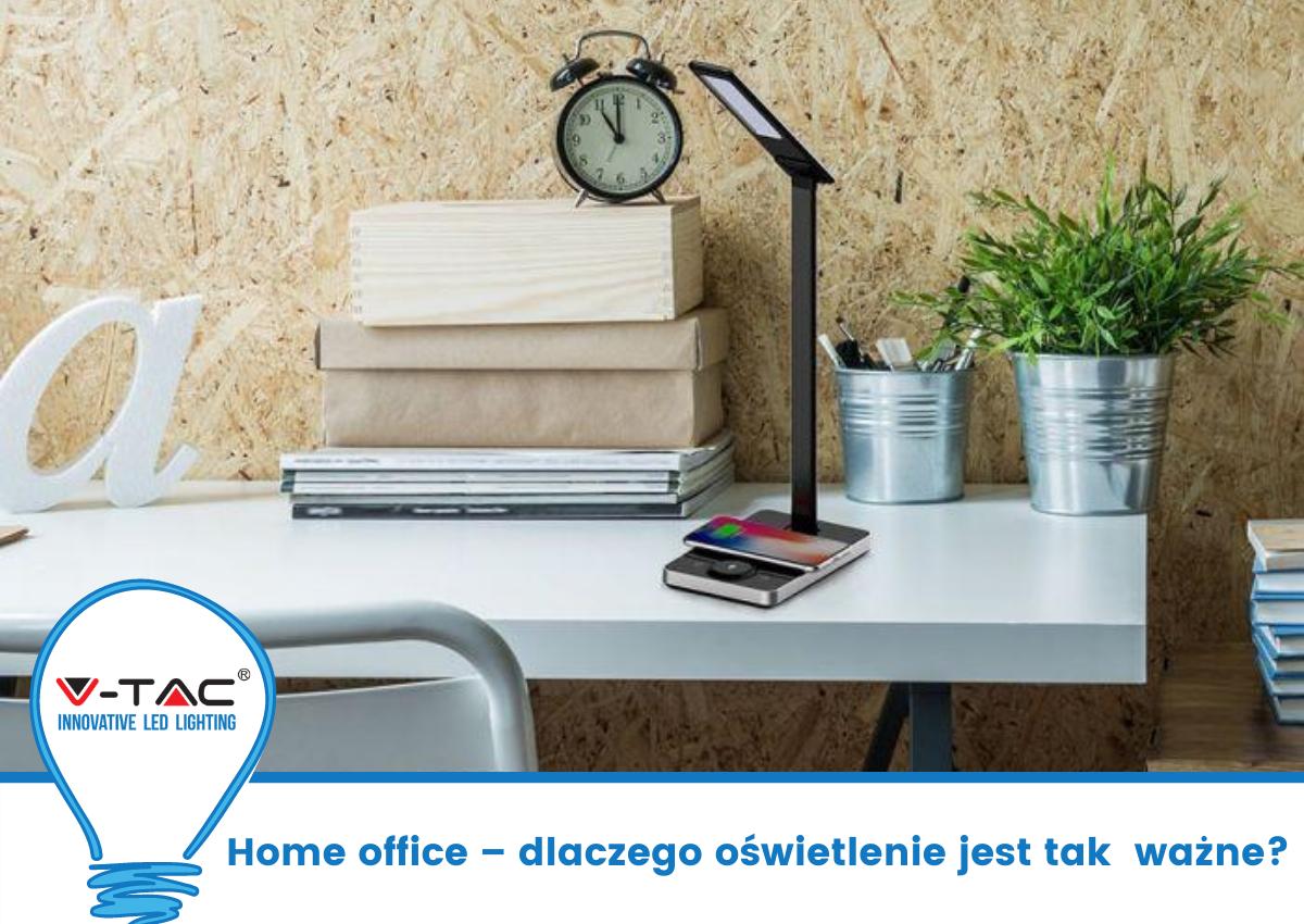 Home office – dlaczego oświetlenie jest tak ważne?
