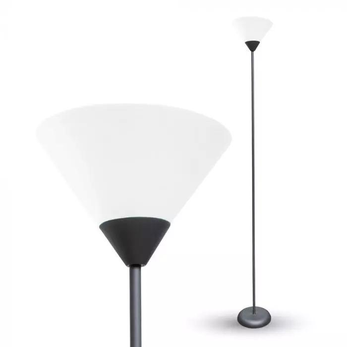 VT-7500 E27 FLOOR LAMP BLACK BODY