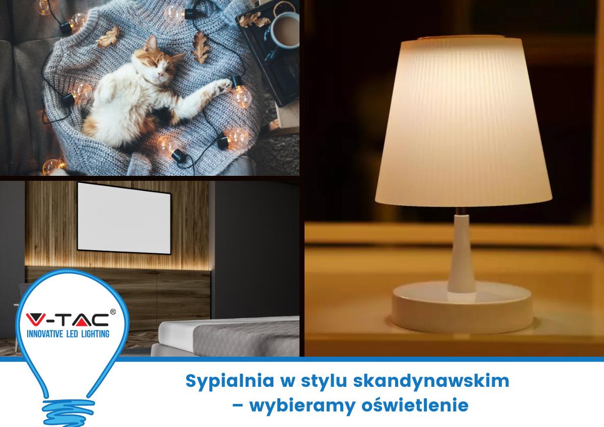 Sypialnia w stylu skandynawskim – wybieramy oświetlenie