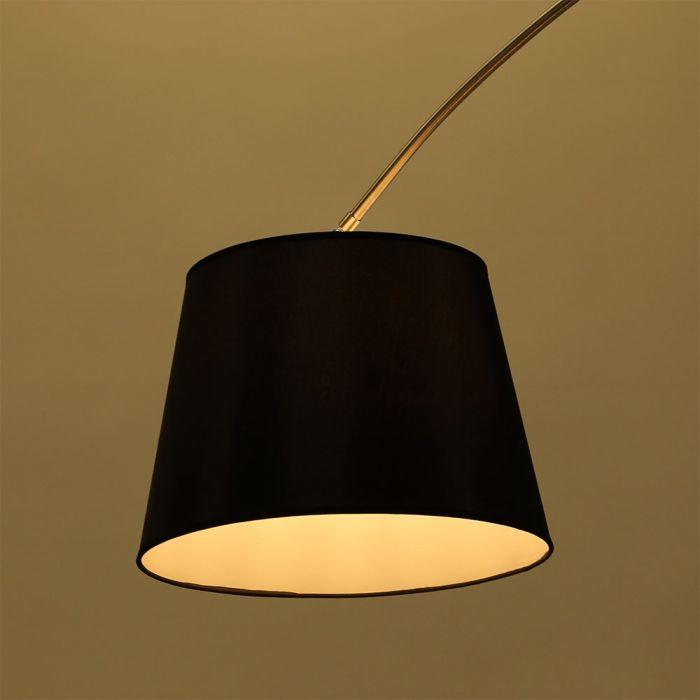 VT-7451 LED FLOOR LAMP WITH MARBLE BASE E27-BLACK