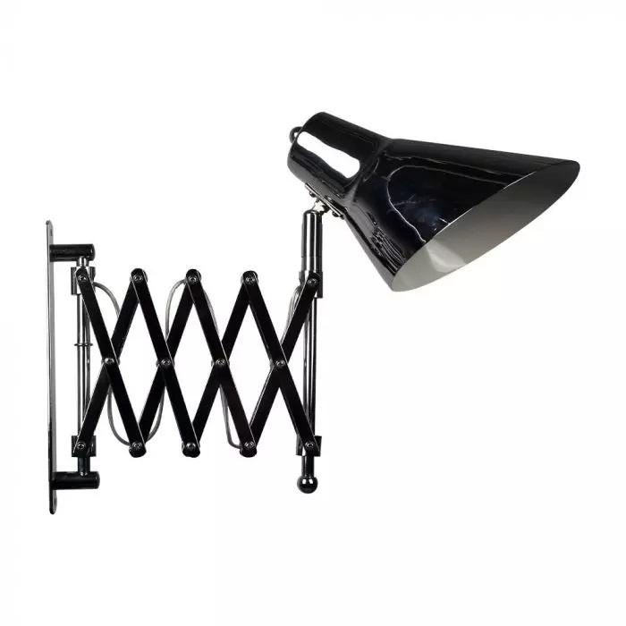 VT-7402 DESIGNER WALL LAMP - FOLDABLE BRACKET & SWITCH-E27 HOLDER-CHROME
