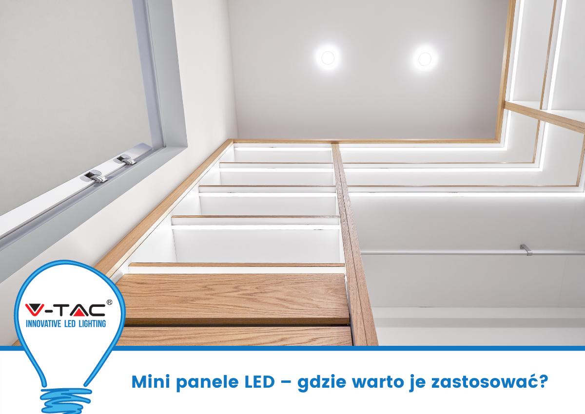 Mini panele LED – gdzie warto je zastosować?