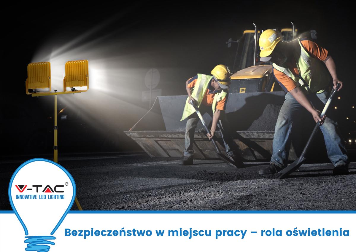 Bezpieczeństwo w miejscu pracy – rola oświetlenia