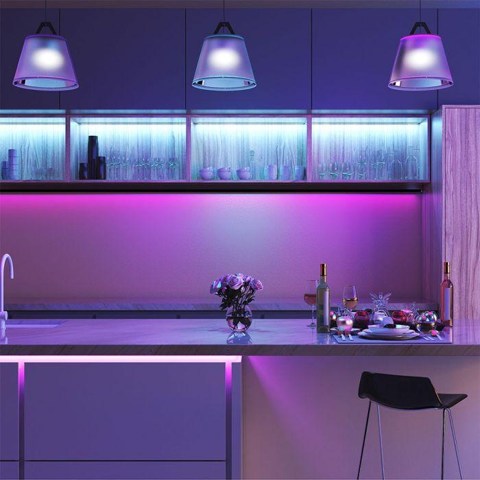 VT-5050-60 10W/M LED STRIP LIGHT RGB SET IP20 (5M/ROLL)