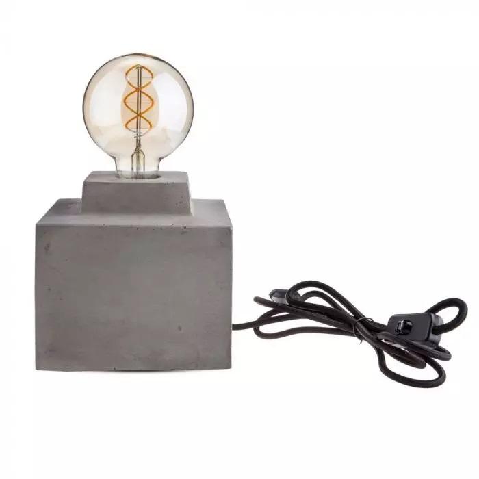 VT-7160 CONCRETE TABLE LAMP D:160
