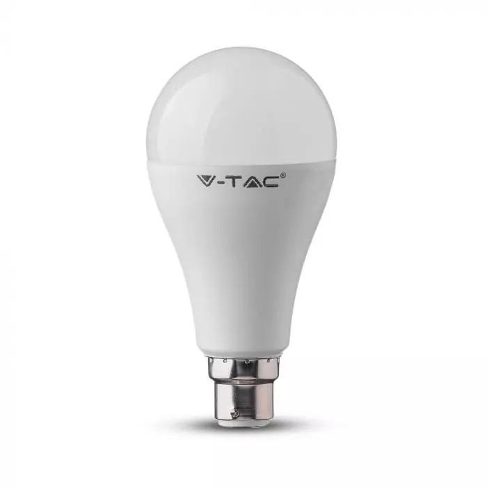 VT-2015 15W A65 Żarówka LED / Barwa:2700K / Trzonek:B22 / Kąt 200'D